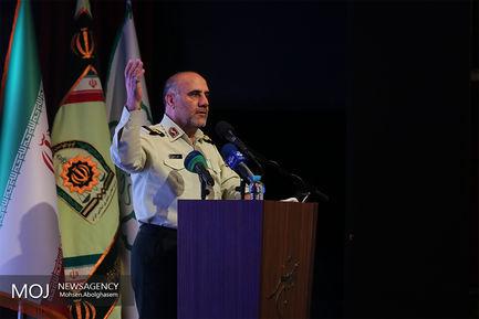 سردار حسین رحیمی فرمانده انتظامی تهران بزرگ