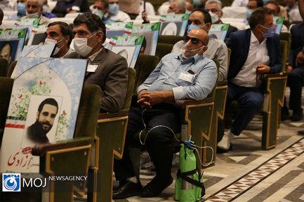 تجلیل از جانبازان شیمیایی در حرم مطهر رضوی
