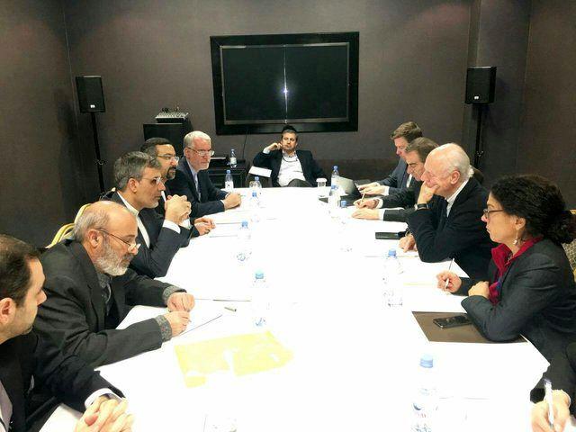 جابری انصاری و دیمیستورا در مورد مذاکرات ژنو گفت و گو کردند
