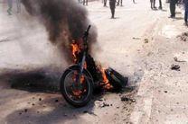 انفجار موتورسیکلت در شمال الرقه یک کشته برجای گذاشت