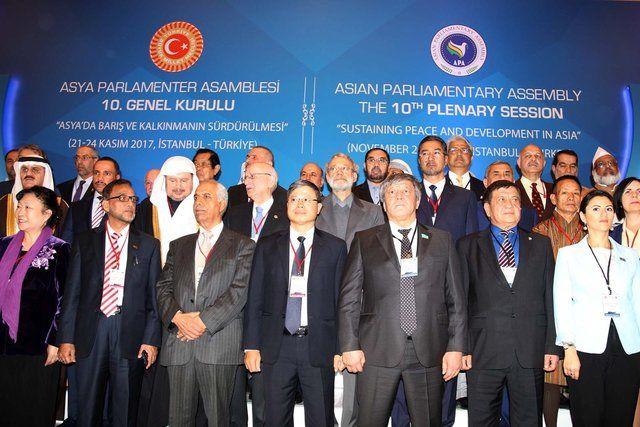 مجمع بینالمجالس آسیا به احترام جان باختگان زلزله غرب ایران یک دقیقه سکوت کردند