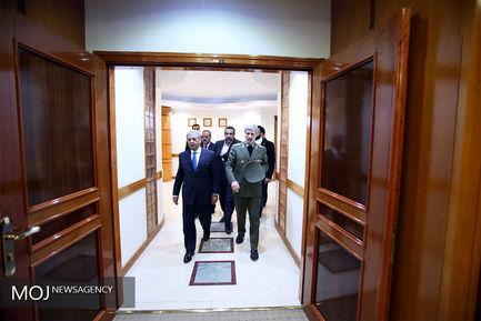 دیدار وزیر تولیدات دفاعی پاکستان با امیر حاتمی