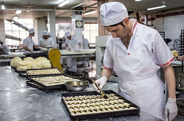 190 قنادی در کرمانشاه شیرینی شب عید را بدون افزایش قیمت تهیه میکنند