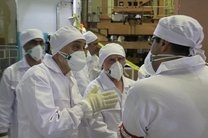 بازدید صالحی از نیروگاه اتمی بوشهر