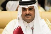 تاکید امیر قطر بر حمایت کشورش از ملت فلسطین