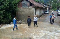 مفقود شدن ۲ نفر بر اثر سیلاب علی آباد کتول