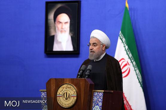 روحانی افطار را میزبان کارکنان نهاد ریاست جمهوری بود