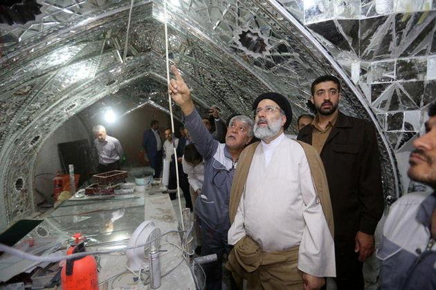 بازدید «رئیسی» از پروژه مقاومسازی حرم امامحسین (ع)