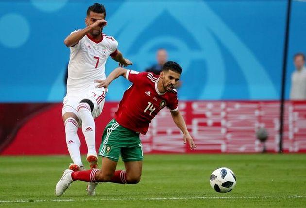 تساوی بدون گل ایران و مراکش در نیمه نخست