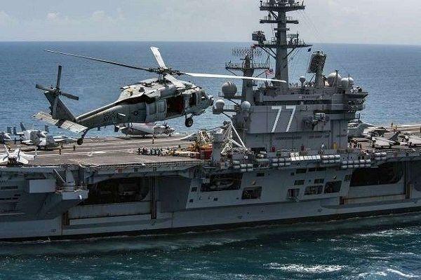 یک کشتی جنگی آمریکایی در بندر دوحه پهلو گرفت
