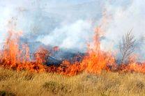 وقوع 2 آتش سوزی در مراتع شهرستان سمیرم و لنجان