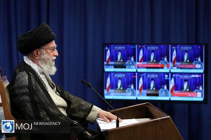 سخنرانی تلویزیونی مقام معظم رهبری به مناسبت روز جهانی قدس
