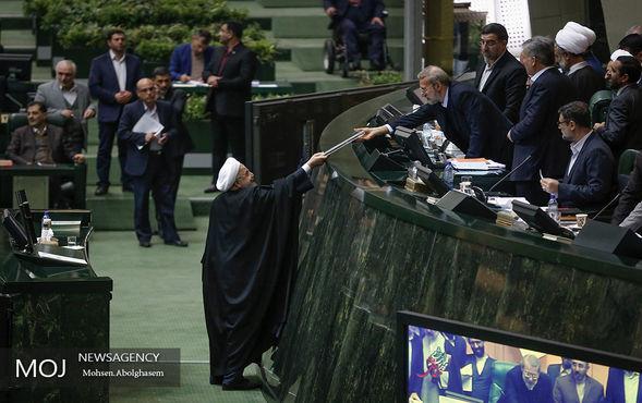 تقدیم لایحه بودجه سال ۹۷ به مجلس توسط رییس جمهوری