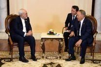 دیدار ظریف با رییسجمهور قزاقستان