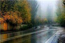 برف و باران و مه گرفتگی در جادهها/ ترافیک نیمه سنگین در آزادراههای قزوین - کرج و کرج - تهران
