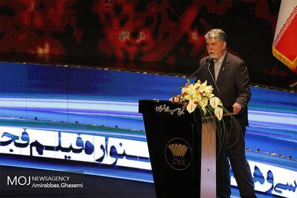 اختتامیه سی و هفتمین جشنواره فیلم فجر/سید عباس صالحی وزیر فرهنگ و ارشاد اسلامی