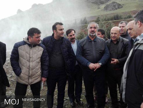 بازدید استاندار کردستان از وضعیت سد قشلاق سنندج