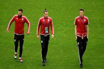 غایبان ولز مقابل پرتغال در نیمه نهایی یورو ۲۰۱۶