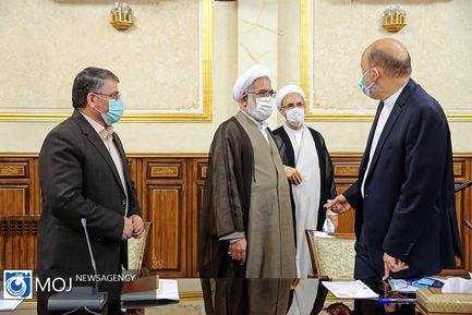 جلسه شورای عالی قوه قضاییه - ۱۰ خرداد ۱۴۰۰