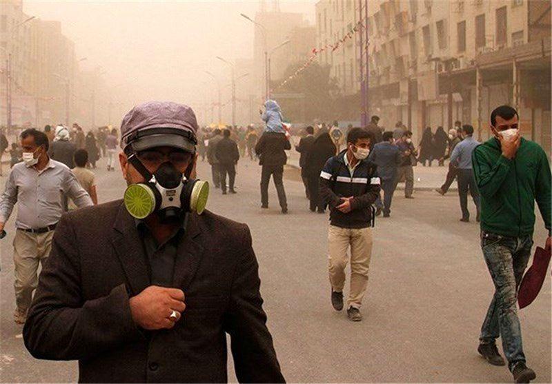 آلودگی هوای لرستان 3.5 برابر حد مجاز شد