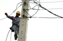 اصلاح و توسعه شبکه توزیع برق در حاجی آباد