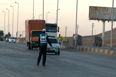 کنترل ورودی و خروجی شمال استان اصفهان