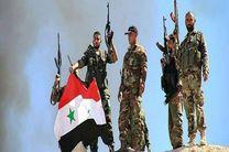 پیشروی ارتش سوریه در مناطق میان حماه و حلب