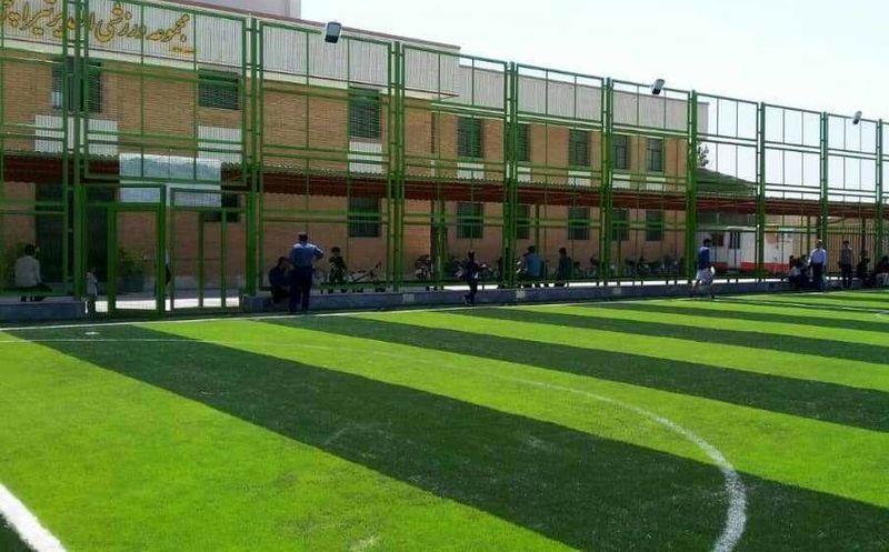 ورزشگاه الغدیر در شهرستان خمینی شهر افتتاح شد