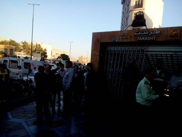 مصدومان حادثه مترو تهران به ٥٥ نفر رسید