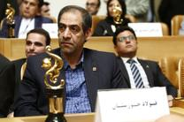 اهدای تندیس صادر کننده نمونه به فولاد خوزستان