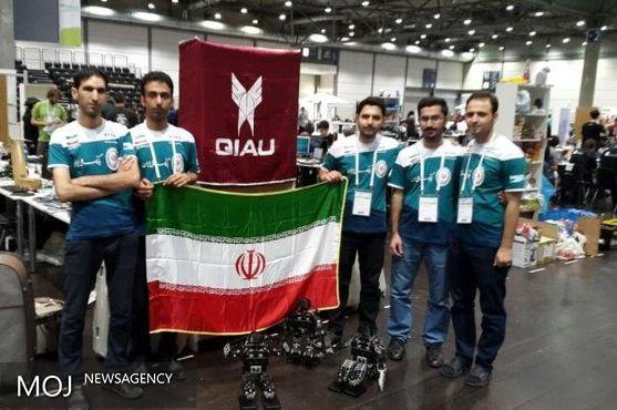تیم ایران بر آمریکا در مسابقات جهانی ربوکاپ غلبه کرد