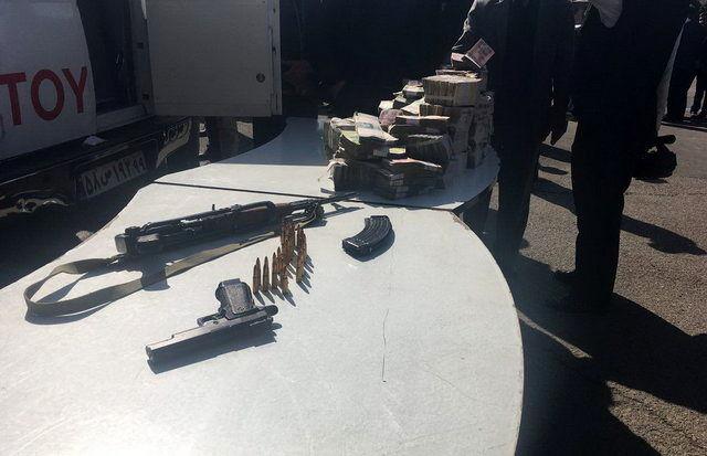 دستگیری سارقان ماشین حمل پول بانک پاسارگارد