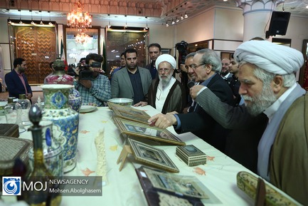 اهدای اثر نفیس به موزه آستان مقدس عبدالعظیم حسنی (ع)
