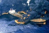 جستجوی پیکرهای مفقودان نفتکش سانچی با اعزام غواص به زیر آب
