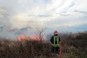 امداد رسانی به ۴۴ مورد حریق و حادثه توسط آتش نشانان شهر رشت