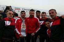 تیم فوتبال پرسپولیس به قطر رسید