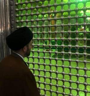 عمار حکیم به مقام شامخ امام راحل(ره) ادای احترام کرد