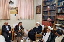 رئیس دفتر رئیسجمهور با آیتالله العظمی صافی دیدار کرد