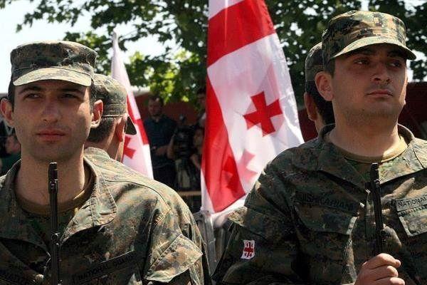 گرجستانی ها خاک افغانستان را ترک کردند