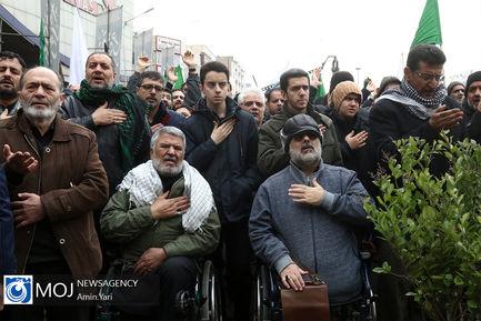 اجتماع هیات های عاشورای فاطمی در میدان هفت تیر