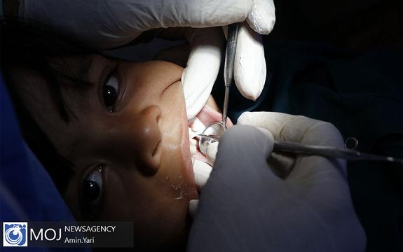 کاروان سلامت هلال احمر در مناطق محروم سیستان و بلوچستان