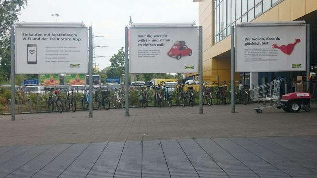 استفاده از دوچرخه برای تردد بخشی از فرهنگ مردم آلمان شده است