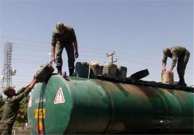 محموله سوخت قاچاق در استان مرکزی توقیف شد