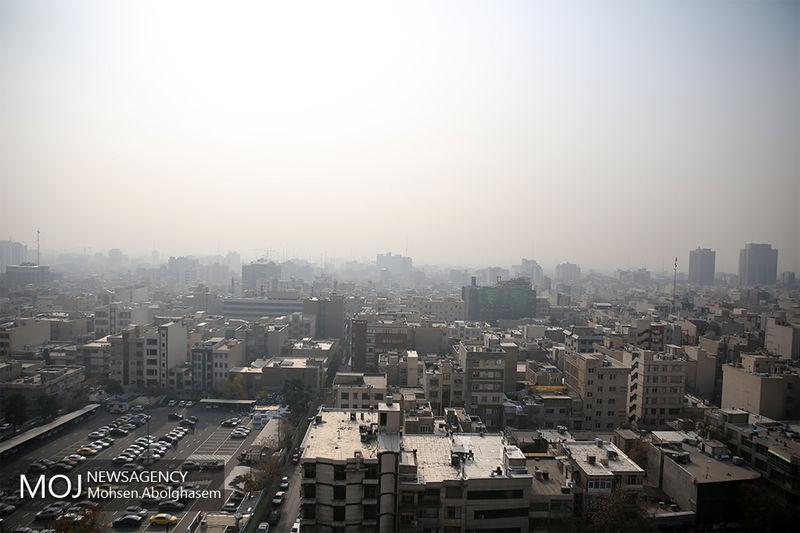 کیفیت هوای تهران در 14 آبان 98 ناسالم است
