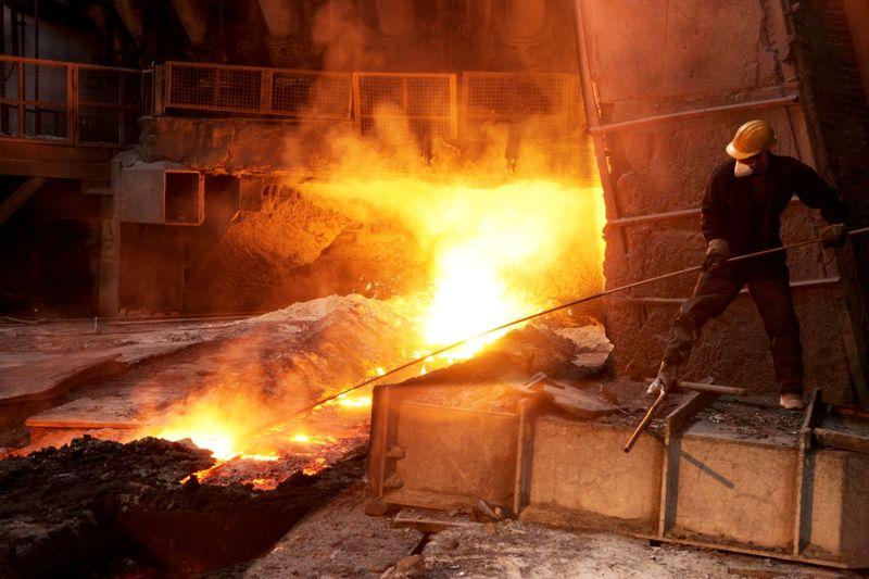 افزایش تولید با راه اندازی کوره بلند شماره یک در شرکت ذوب آهن