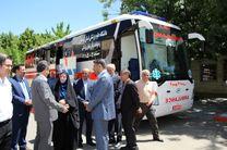 چهار دستگاه آمبولانس پیشرفته به ناوگان اورژانس کردستان اضافه شد