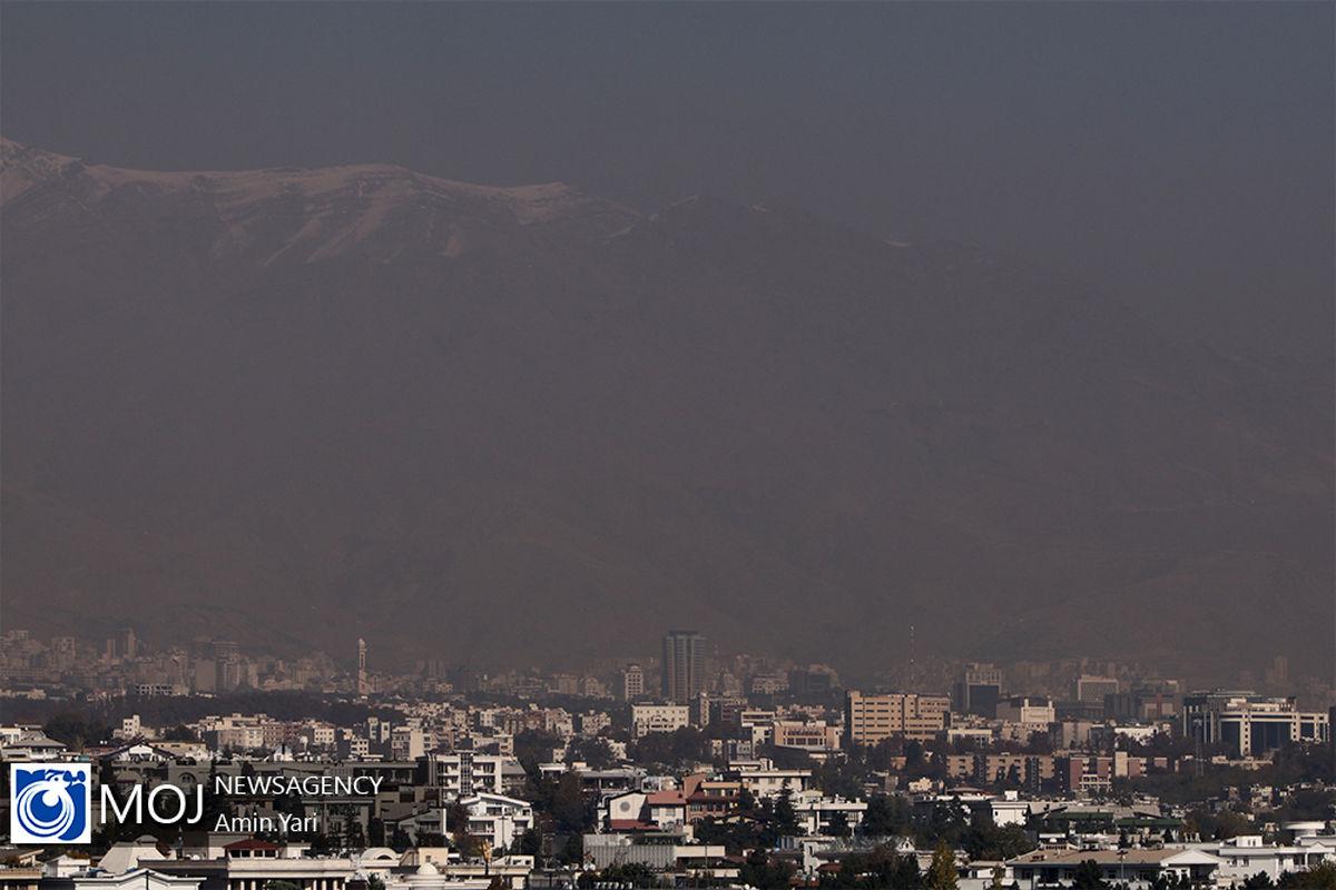 کیفیت هوای تهران ۱۲ دی ۹۹/ شاخص کیفیت هوا به ۱۵۳ رسید
