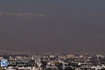 کیفیت هوای تهران ۲۱ شهریور ۹۹/ شاخص کیفیت هوا به ۱۰۳ رسید