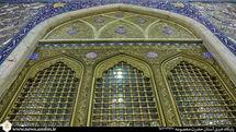 تکمیل پنجره فولاد شبستان حضرت زهرا(س) همزمان با دهه کرامت