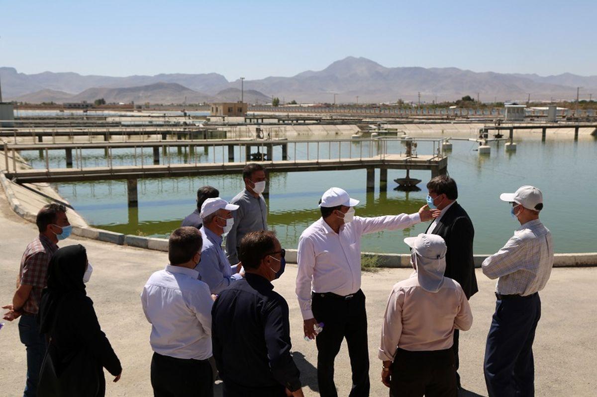 افتتاح 2 طرح بزرگ در حوزه تامین آب شرب پایدار در شهرستان نجف آباد